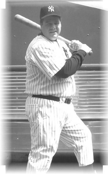 "Dave Frazie as ""The Babe"""